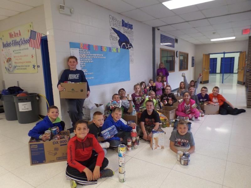 Pierce Public Schools - Pierce Elementary Donates 938 Items
